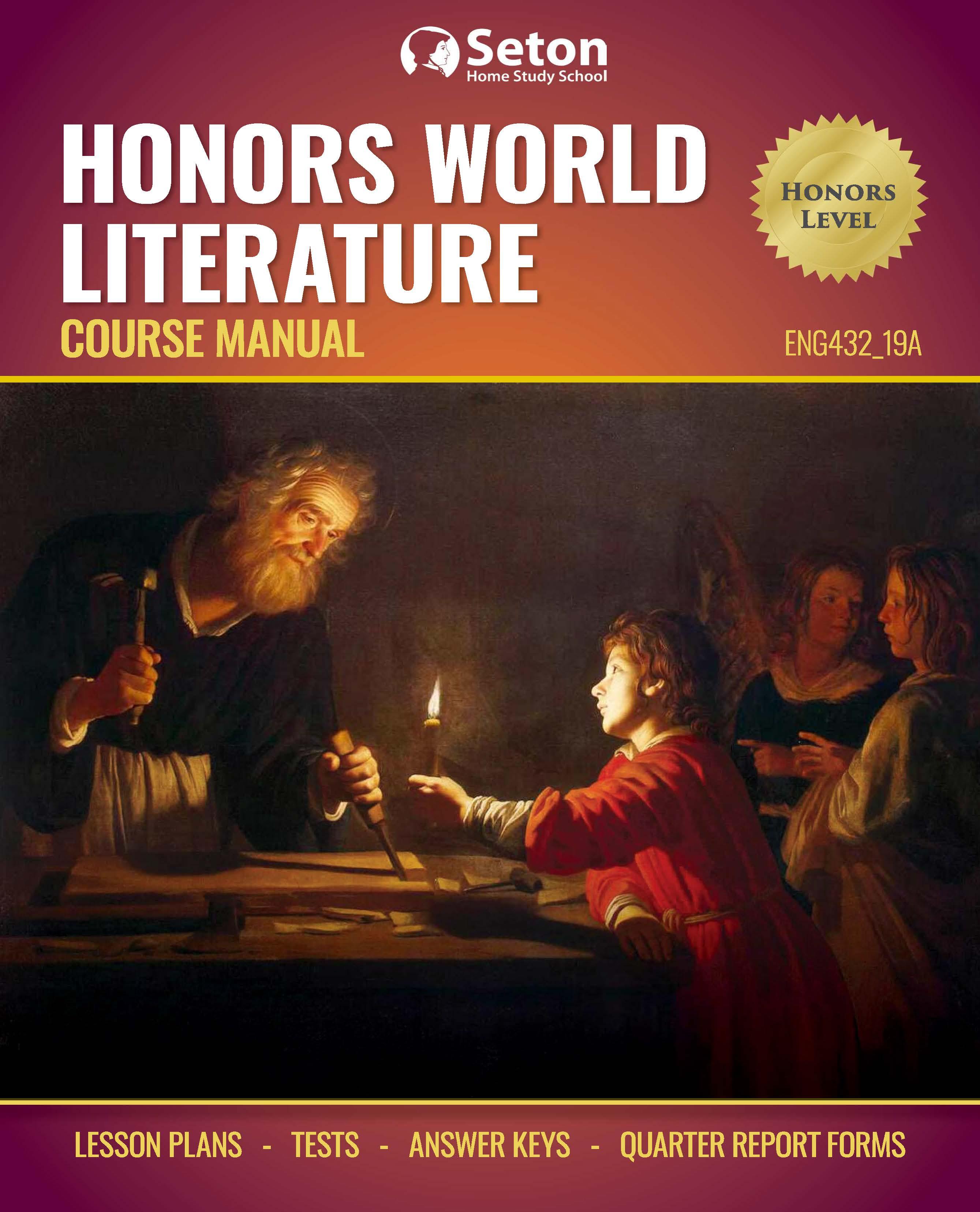 Honors World Literature - Seton Home Study School